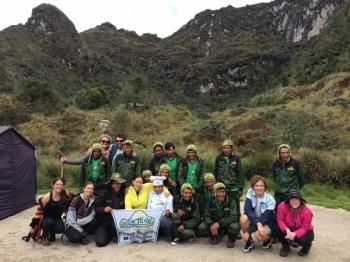 Xiamae-Elizabeth Inca Trail December 03 2016