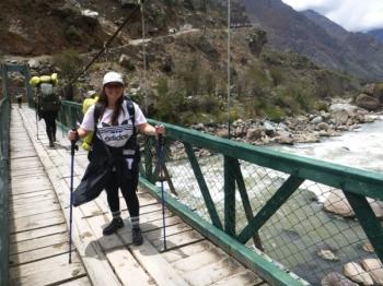Stephanie Inca Trail November 30 2016-2
