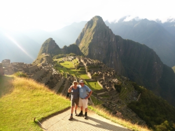 Machu Picchu vacation August 24 2016