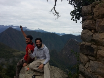 Diego Inca Trail October 26 2016