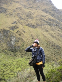 Elizabeth Inca Trail December 25 2016-2