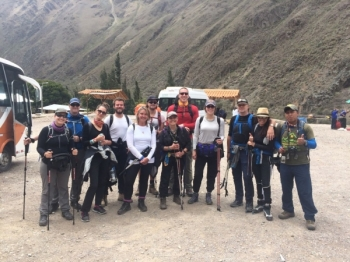 Paul Inca Trail October 29 2016-2