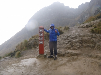 Markus Inca Trail December 24 2016-2