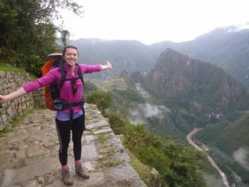 Joanna Inca Trail April 13 2017