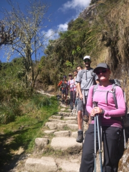 Cailey Inca Trail July 12 2017