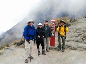 Cynthia Inca Trail August 27 2017
