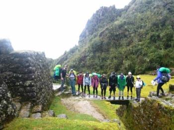 Christina Inca Trail March 12 2017