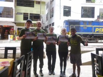Machu Picchu trip June 10 2017