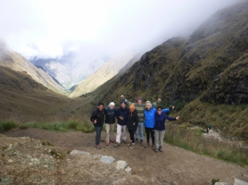 Machu Picchu trip March 19 2017