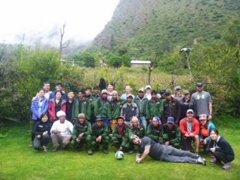 Xiang Inca Trail March 12 2017