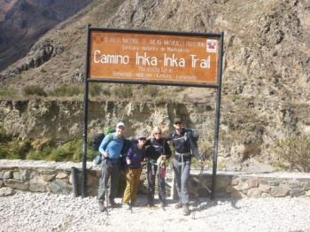 Geert Inca Trail August 15 2017