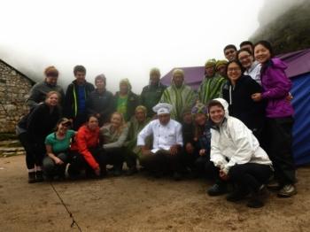 Machu Picchu trip March 15 2017