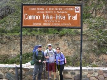 Osvaldo Inca Trail March 04 2017