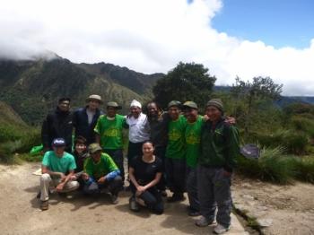 Carla Inca Trail March 22 2017-2