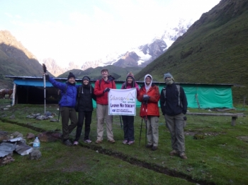 Machu Picchu vacation April 08 2017