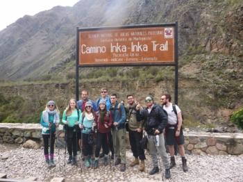 Machu Picchu trip November 14 2017