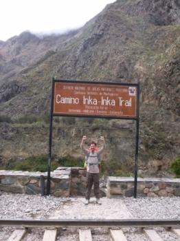 Machu Picchu trip September 16 2017